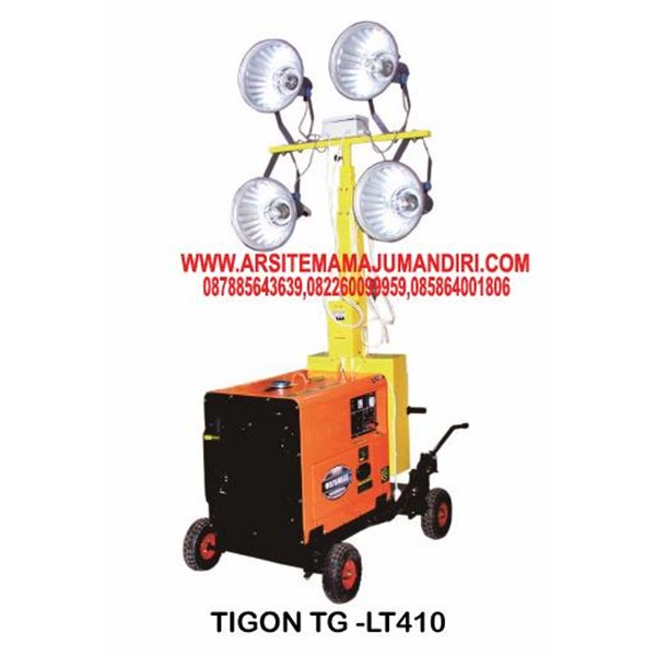 LIGHT TOWER TIGON TG - LT44 ( TANPA ENGINE )