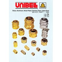 Unibell Brass Cable Gland Unarmoured A2