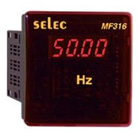 SELEC Digital Frequency dan Power Factor Metal 1