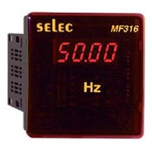 SELEC Digital Frequency dan Power Factor Metal