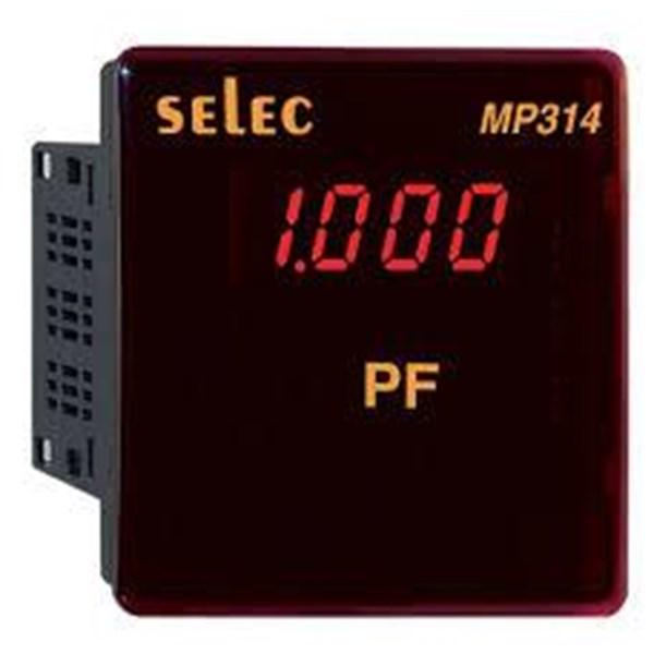 SELEC Digital Frequency dan Power Factor Metal