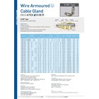 Cable Gland OSCG Wire Armoured 4