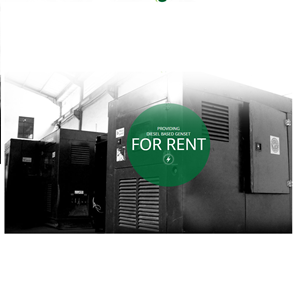 Rental Genset By CV. Goshen Power