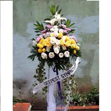 Karangan Bunga Standing Duka Cita