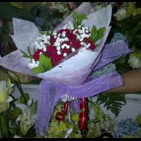 Karangan Bunga Mawar Duka 1
