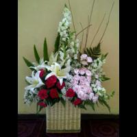 Karangan Bunga Tangan 1