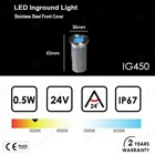 Lampu LED Inground 0.5 Watt 2