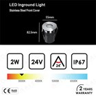 Lampu LED Inground 2Watt 2