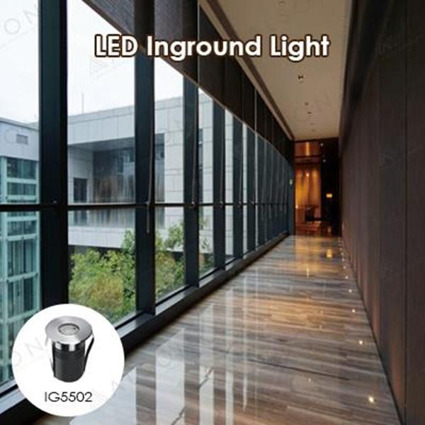 Lampu LED Inground 2Watt