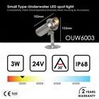 Lampu Kolam Renang LED Underwater 3 Watt OUW6003 2