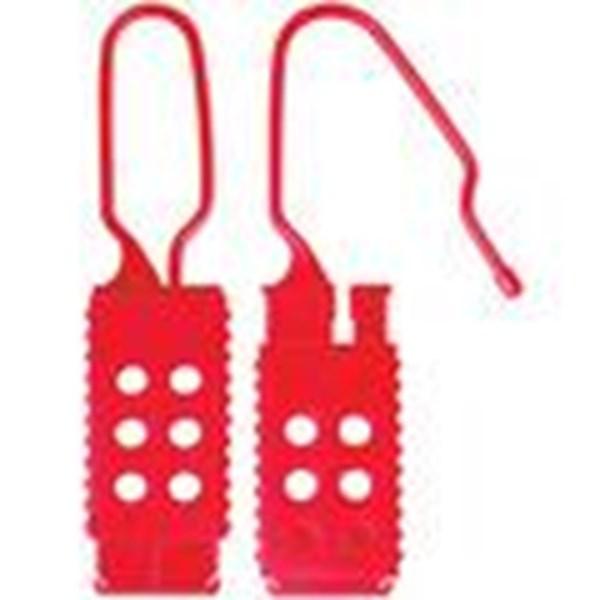 428 - Plastic Lockout Hasp (SEgel Keamanan)