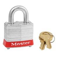 Master Lock 3 KA RED