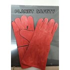 Sarung Tangan Safety Las Merah 1