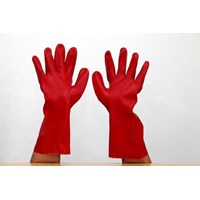 Sarung Tangan Safety Rubber Leopard PVC Glove