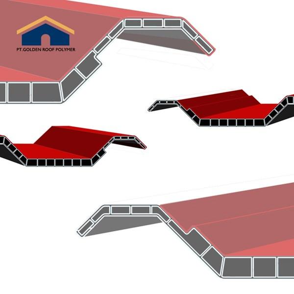 Pabrik  Atap Pvc ASA Lafla Genteng