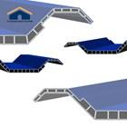 Pabrik Atap Pvc ASA Biru Lafla Genteng 1