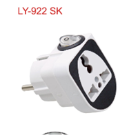 Steker Serbaguna + Saklar LY-922 SK