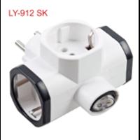 Steker T Arder + Saklar LY-912 SK