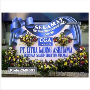 Bunga Papan Selamat Sukses Surabaya