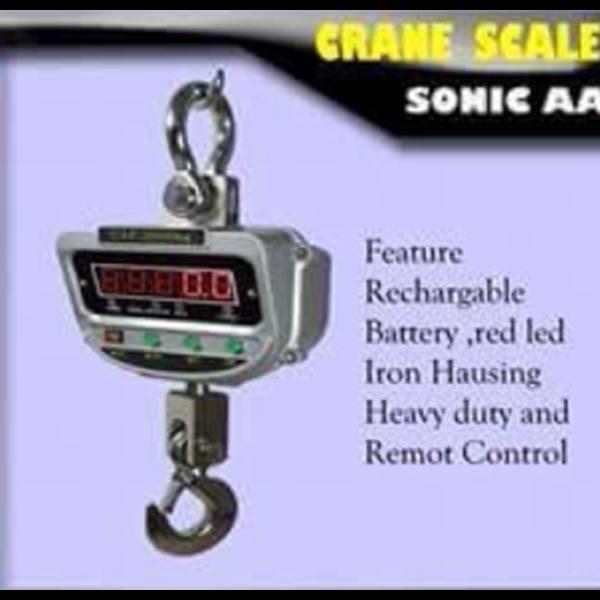 Crane Scale New Sonic AA-E
