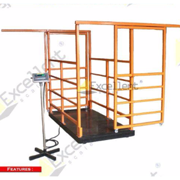 Animal Scale With Cage (Sliding Door) ANC SD - GBSS Series