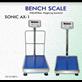 Timbangan Lantai Bench Scale Sonic AX-1