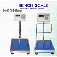 Timbangan Lantai Bench Scale Sonic A1+P (Printer)
