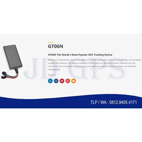 Sell Gps Tracker Gosmart Gt06n With E-Postel And Server Gosmart 1 Year