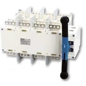 Manual changeover switches