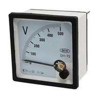 Voltmeter 72 x 72 300V DV