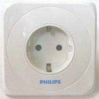 Jual Stop Kontak 2 Module 16A 250V Philips