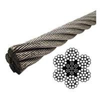 Jual Kawat Seling Wire Rope Galvanized IWRC 2