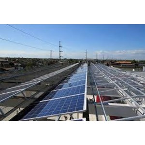 Solar Panel Flat Roof Triangle Mounting ICA Solar