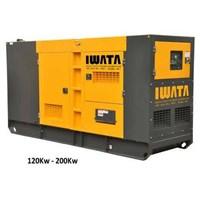 Genset Diesel IWATA 120KW / 150KVA Silent - IW120WS