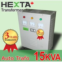 Hexta Trafo Step Up 15 KVA