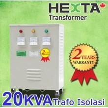 Hexta Trafo Step Up 20 KVA