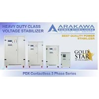 Arakawa Stabilizer 225 KVA Automatic PDX Contact 3 Phase Series