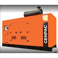 Genset Silent Genpac powered by cummins GC80