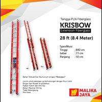 Tangga PLN Fiberglass Krisbow 28 Ft (8.4 Meter) 1