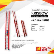 Tangga PLN Fiberglass Krisbow 32 Ft (9.6 Meter)