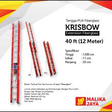 Tangga PLN Fiberglass Krisbow 40 Ft (12 Meter)