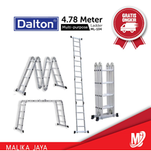 Tangga Aluminium Dalton Multi-Purpose ML-104
