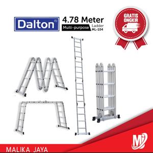 Tangga Aluminium Dalton Multi-Purpose ML-104