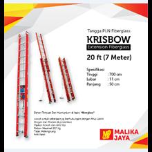 Tangga PLN Fiberglass Krisbow 20 Ft (7 Meter)