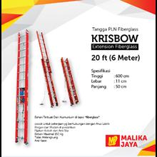 Tangga Fiberglass Krisbow 20 Ft (6 Meter)