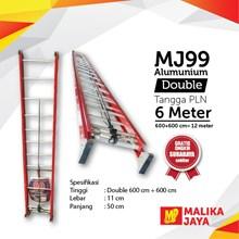 Tangga Aluminium PLN 6 meter merk MJ99