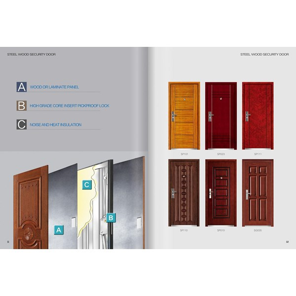 pintu bahan kayu