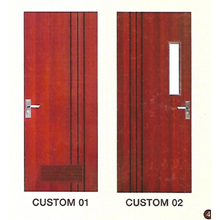 Pintu Kayu Custom