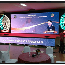 Media Display Indoor Kemenhumham