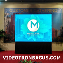 Sewa LED Media Display Indoor Hotel Sahid
